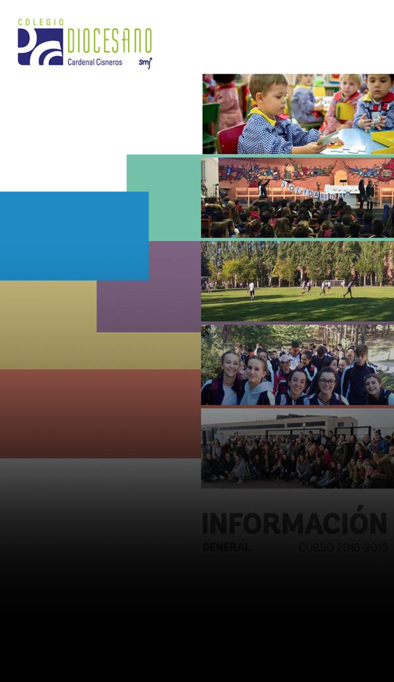 Catalogo informacion general Colegio Diocesano Cardenal Cisneros